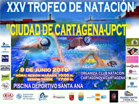 POSTER OFICIAL TROFEO CIUDAD DE CT 2018