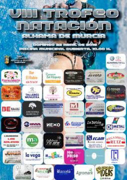 Cartel VIII Trofeo Natacion Villa de Alhama