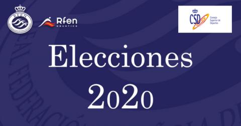 Logo elecciones RFEN 2020